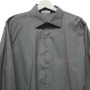 Camicia manica 3/4 grigia