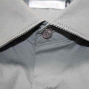 Camicia manica 3/4 grigia particolare