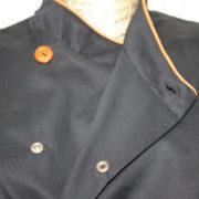 Giacca cuoco con soffietto particolare