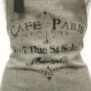 "Grembiule ""Cafè de Paris"" particolare"