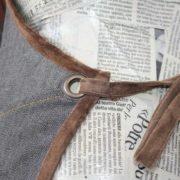 Grembiule jeans particolare