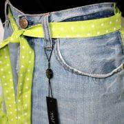 Grembiule jeans Ruches particolare